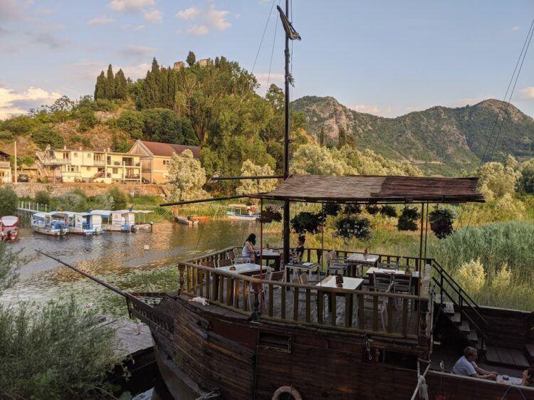 pirate ship restaurant virpazar