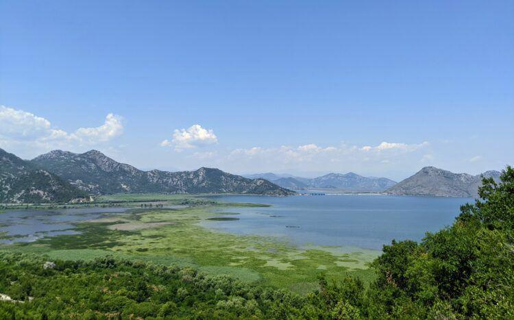 overlooking skadar lake